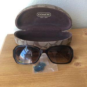 LIKE NEW Coach Sunglasses